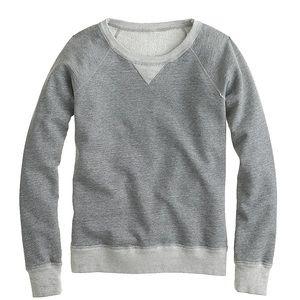 J.Crew weekend sweatshirt Sz XS gray